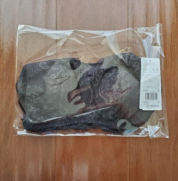サルート『ナイトアップブラ ドレッシィ』のパッケージ