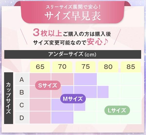 ハグミー(Hugme)のサイズ表